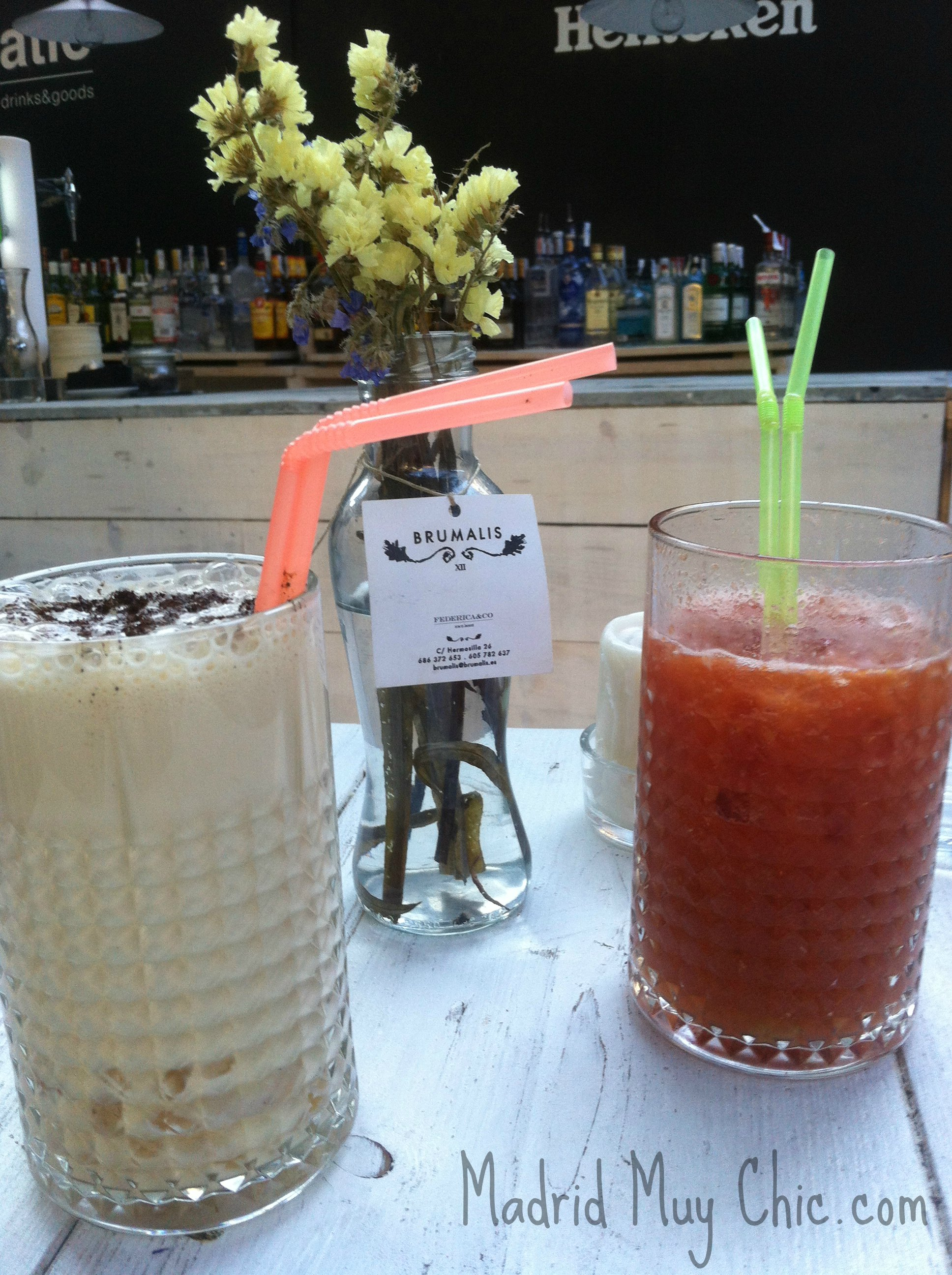 bebidas the patio