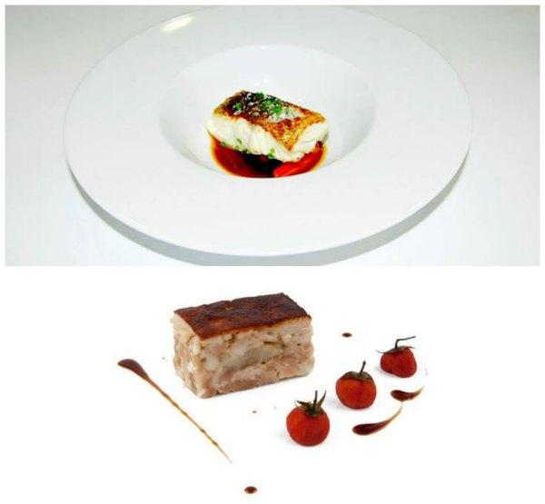 La cabra Collage comida