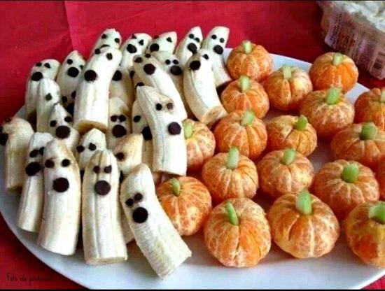 fruta de halloween