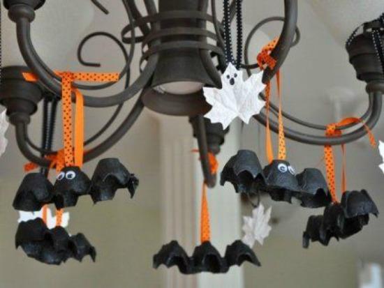 pueden ser más monos estos murciélagos y estos fantasmas?
