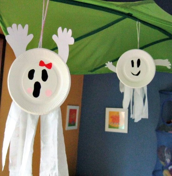 Halloween manualidades y decoraci n for Easy halloween decorations to make at home for kids