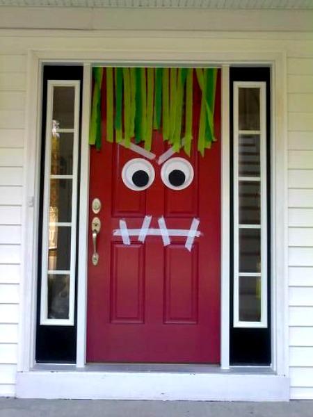 puerta de monstruo