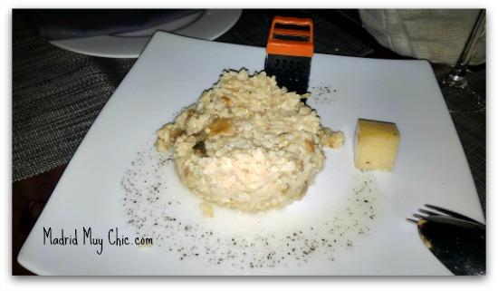 risotto de boletus trufa y parmesano editado