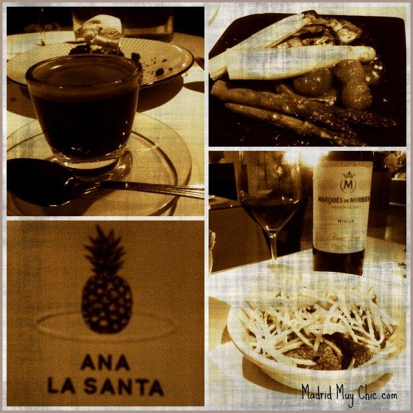 Ana la Santa collage