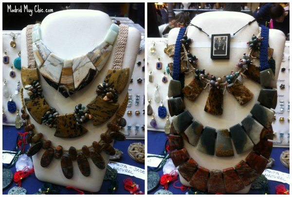 Collage collares museo