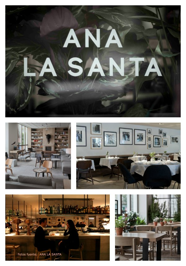 Ana la Santa Restaurante Collage