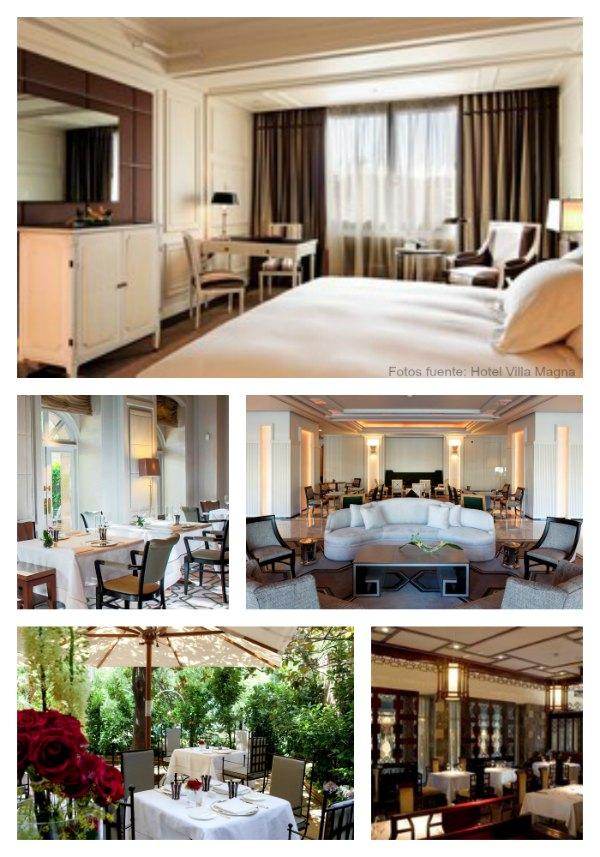 Villamagna hotel collage