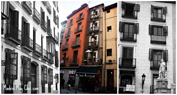 Descubriendo las casas y las calles de Madrid