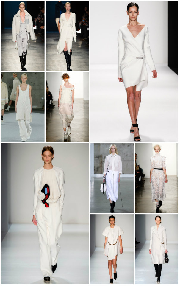 collage WINTER WHITE