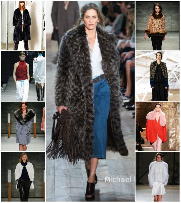 collage fur