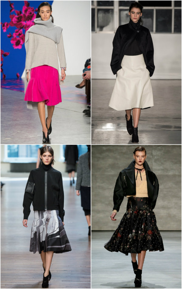 collage skirts