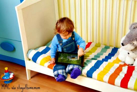 Los niños, desde muy pequeños, se desenvuelven perfectamente con las apps