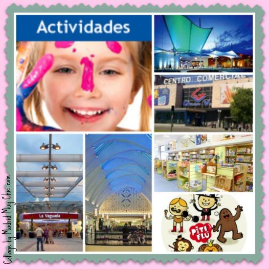 Hay multitud de actividades en tiendas y centros comerciales ¡A disfrutar!