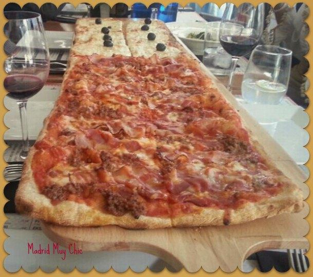 km de pizza 1 m