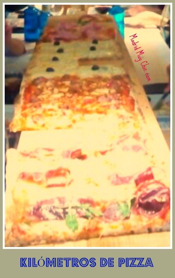 km de pizza 2 m.