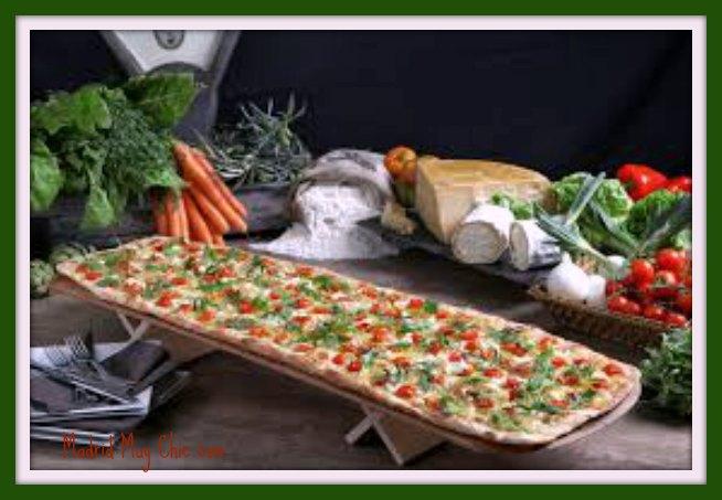 km de pizza mediterránea