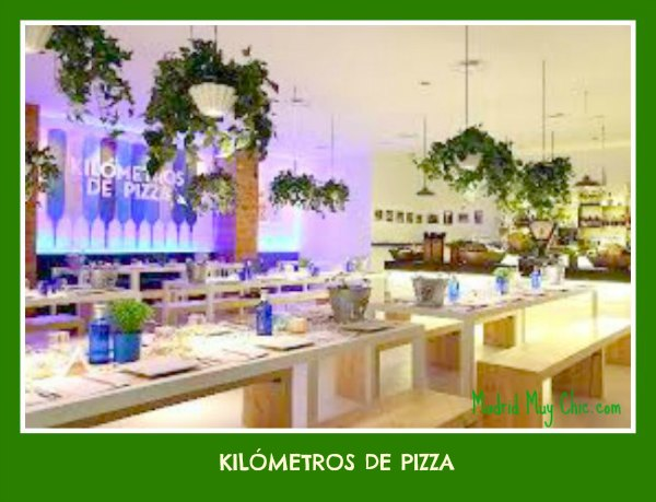 km de pizza mesas