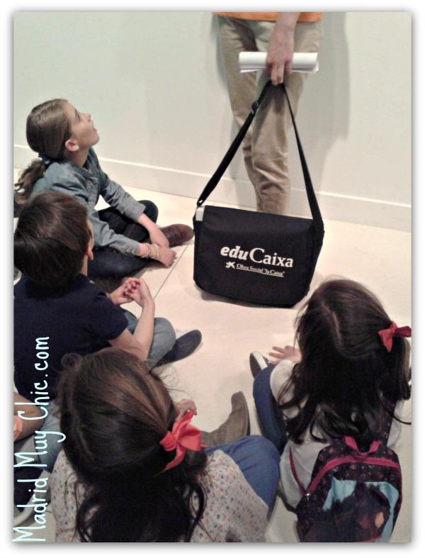 Los niños estuvieron súper atentos durante toda las explicaciones ¡ estamos hablando de pelis y dibujos!