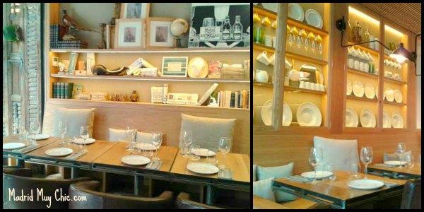 la contraseña mesas Collage