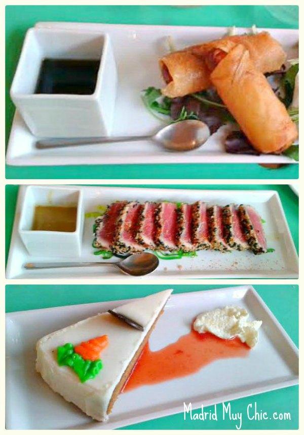 la contraseña platos Collage