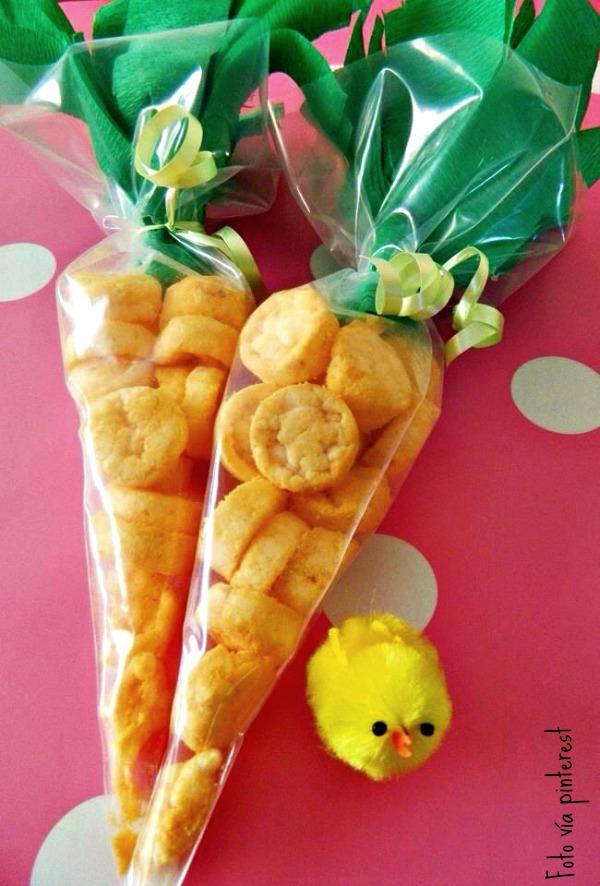 Unos snacks así presentados quedan genial