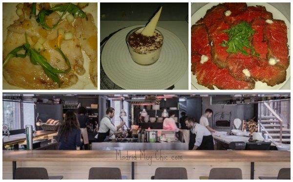 Bosco collage barra y comida
