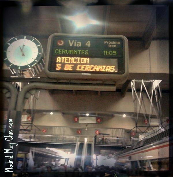 El Tren es un moderno cercanías, que nos traslada a otra época