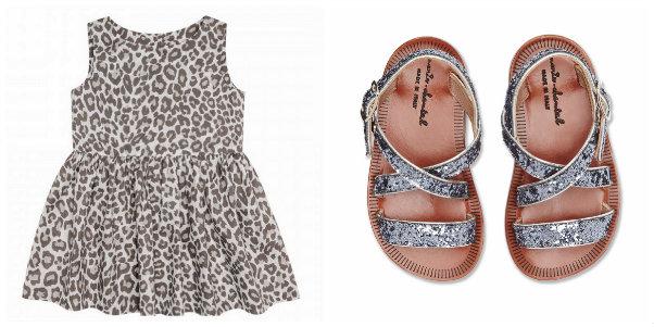 collage bonton 70 y sandalias glitter 79 Marie Chantal Miller