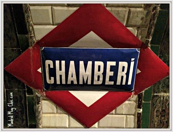 La estación de Chamberí es una de las curiosidades de Madrid
