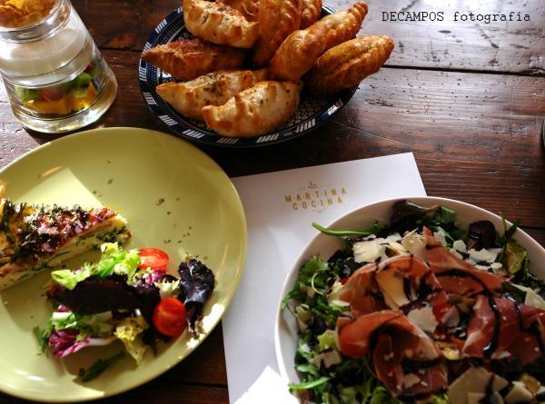 Cocina casera,  sencilla y sabrosa, Martina procura variar e innovar, manteniendo su toque