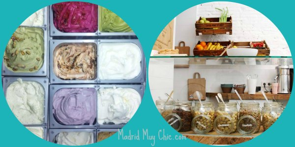 Mistura helados y toppings