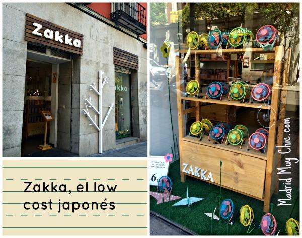 Zakka tiene tiendas en tres direcciones: Fuencarral 90, Bravo Murillo 15 y Narváez 39