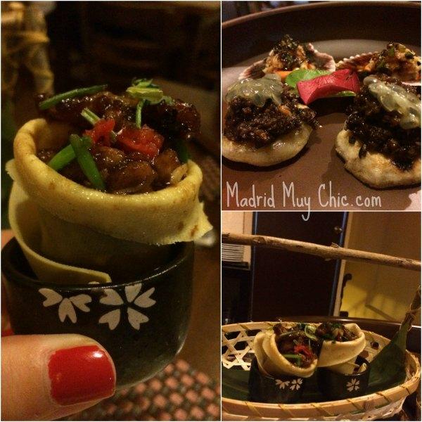 Finger food en Soy Kitchen. Ñam!