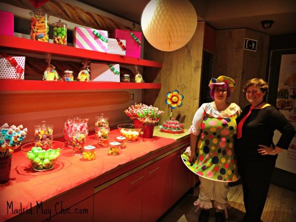 En el Hotel Ibis centro esperaba a los niños la sorpresa más dulce del festival