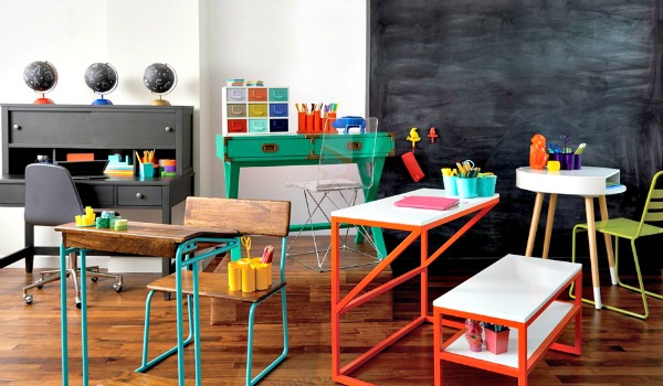 Modernos o con aire retro y vintage, nos encantan todos los escritorios de The Land of Nod