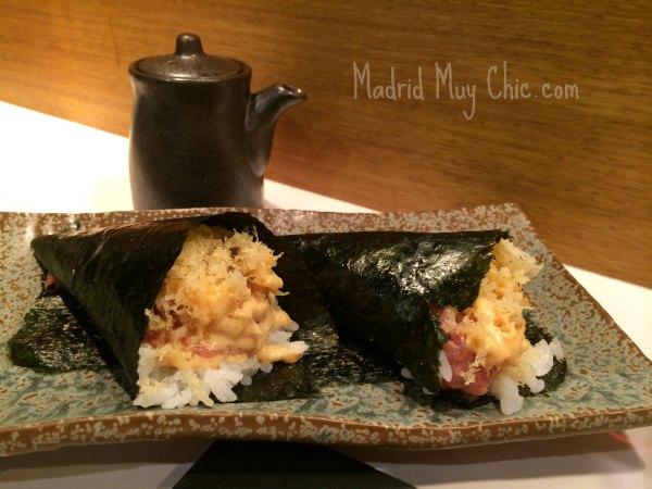 MMC 99 sushi temakis