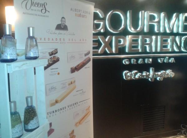 El Gourmet Experience se viste de gala con la presentación de un turrón de lujo
