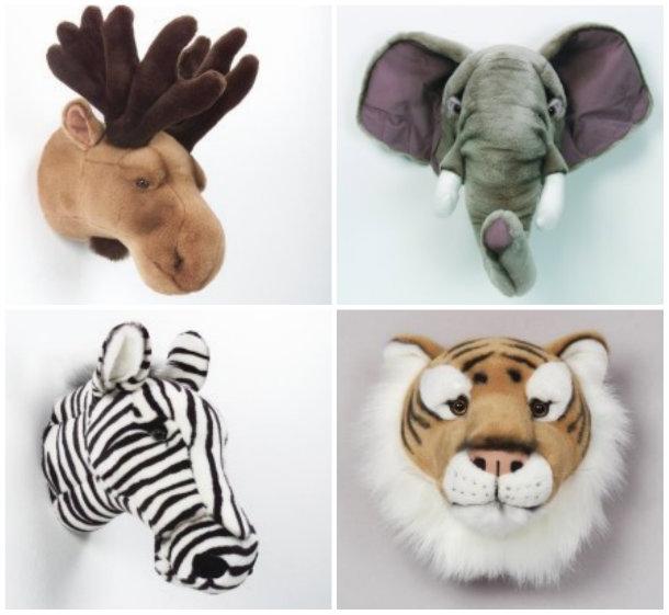 collage niños animales