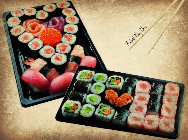 PASO 2:  Sushi en forma de corazón