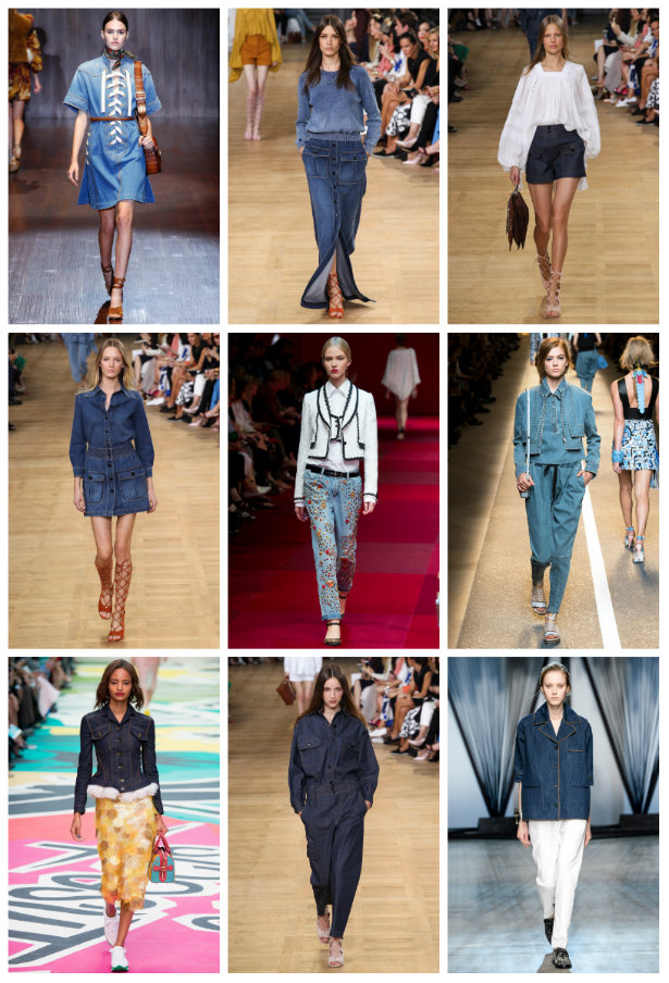 collage denim