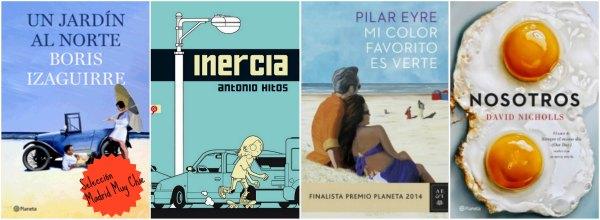 libros febrero 2015 Collage