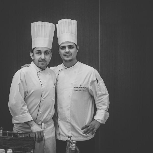 A José Luque y Miguel de la Fuente, chefs del brunch y del restaurante, respectivamente,  se les han sumado otros cinco cocineros de máximo nivel.