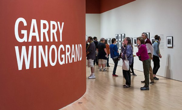 """Garry Winogrand exhibition, San Francisco Museum of Modern Art, 2013"" by Frank Schulenburg - Own work."