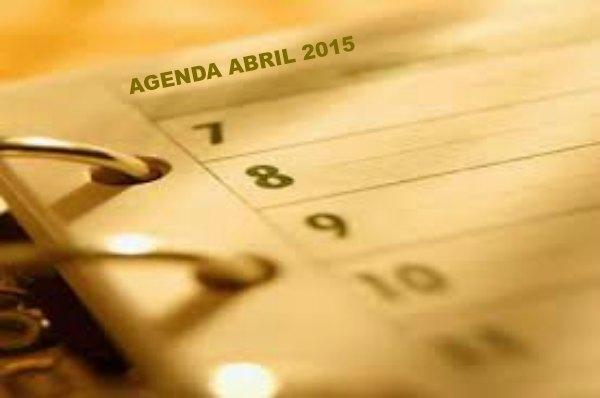 agenda abril 2015