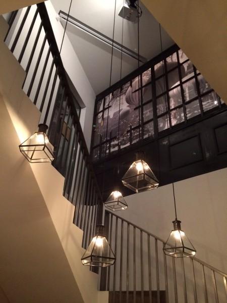 La escalera tiene un encanto especial