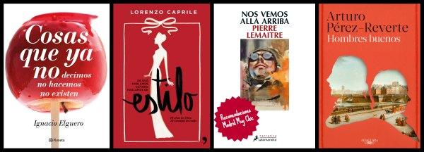 Recomendaciones literarias de Madrid Muy Chic