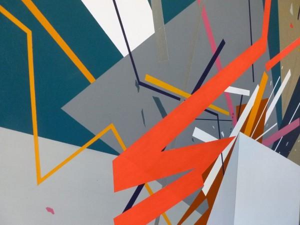 Obra de Ruth Quirce en la galería de Blanca Soto