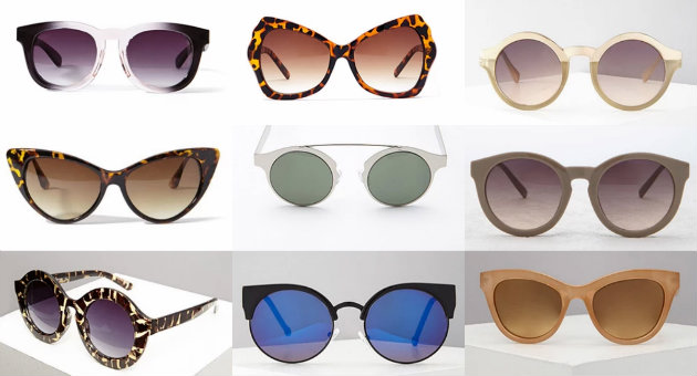 collage sunglasses forever 21