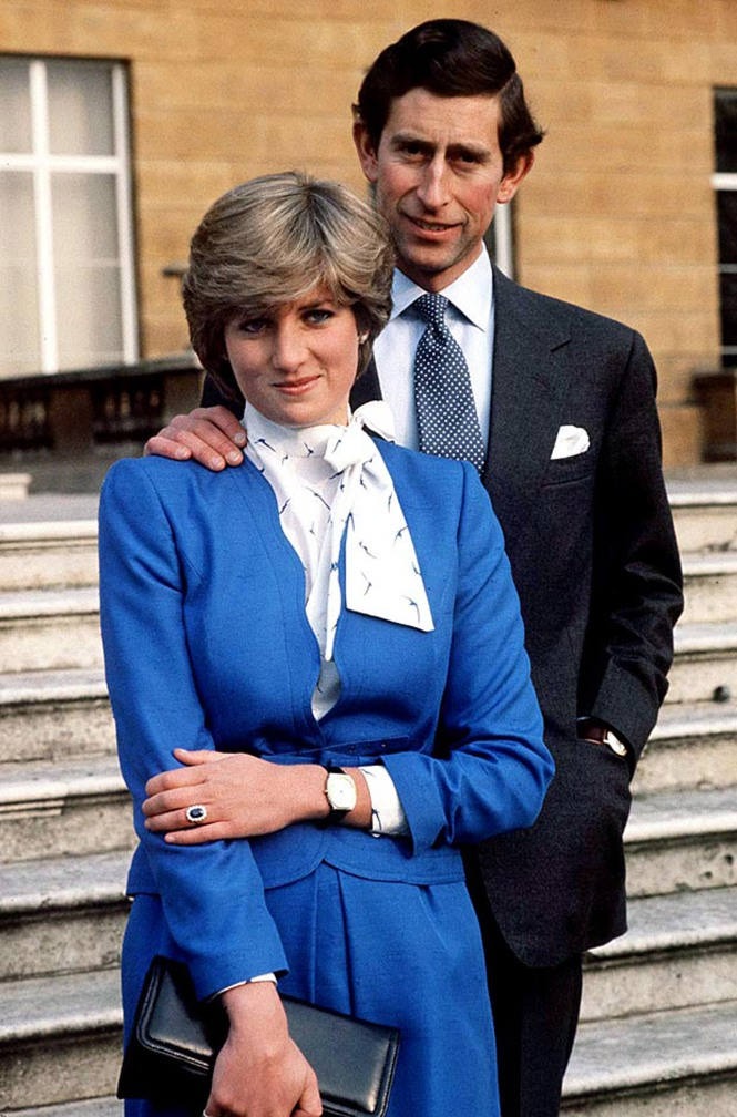 El zafiro de Diana, copiado hasta la saciedad y hoy en manos de su nuera la Duquesa de Cambridge