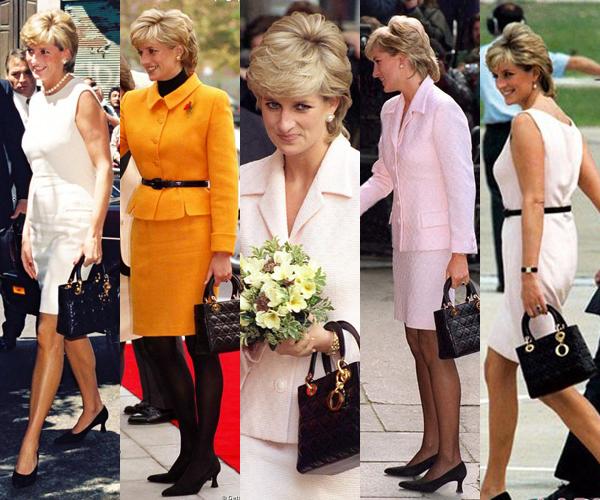 Con su inseparable bolso Lady Dior
